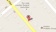 Haddon Heights Law Firm Map