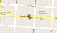 Vineland Law Firm Map